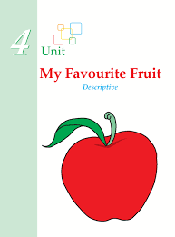 grade descriptive writing my favourite fruit composition  writing skill grade 1 descriptive my favorite fruit 1