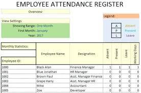 Employees Attendance Sheet Template Attendance Sheet Template Excel For Employee Latest Creative Monster