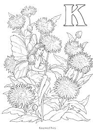 Small Picture Flower Fairy Coloring Book And Poems Coloring Pages