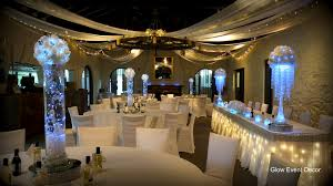 wedding table lighting. Unique Led Lights For Wedding Decorations With White Rose LED Kissing Balls Garlands And Table Lighting H