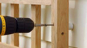 how to attach a trellis to a wall