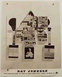 Ray Johnson - Ray Johnson : Willard Gallery, 29 E. 72 St New York, April 25  - May 27 1967 - Printed Matter
