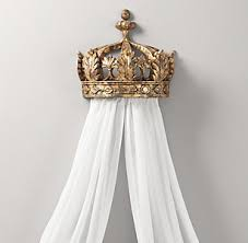 Bed Crowns & Canopies | RH Baby & Child