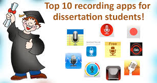 dissertation images ASB Th  ringen Top recording apps for dissertation students Transcriptionstar blog top recording apps for dissertation