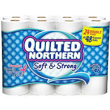 Quilted Northern Ultra Soft & Strong Double Roll Toilet Paper, 190 ... & Quilted Northern Ultra Soft & Strong Double Roll Toilet Paper, 190 sheets,  24 rolls Adamdwight.com