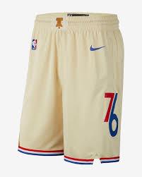 Nba Swingman Shorts Size Chart 76ers City Edition Nike Nba Swingman Shorts