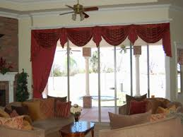 Living Room Curtains And Valances Swag Curtains For Dining Room Swag Curtains For Kitchen Living