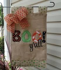 fall garden flags. Halloween Boo Y\u0027all Appliqued Fall Garden Flag, Outdoor Decoration, Flags D