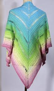 Free Shawl Crochet Patterns Inspiration Shawl Pattern Free Crochet Pattern Shrebet Rainbow Shawl
