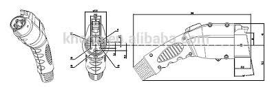 sae j1772 plug schuko end mode 1 ev charging cable view mode sae j1772 plug schuko end mode 1 ev charging cable