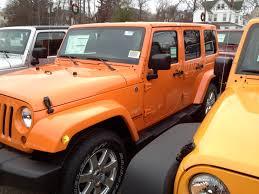 whoa orange 4 door