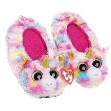 Fantasia The Unicorn Ty Beanie Boos Fashion Slipper Socks