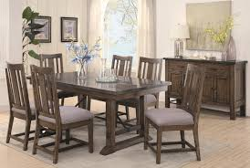 seven piece dining set: coaster willowbrook five piece rustic pub dining set with bluestone table and solid wood counter chairs coaster fine furniture