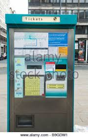 Vending Machines Manchester Extraordinary Ticket Machine Manchester Metrolink England UK Stock Photo 48