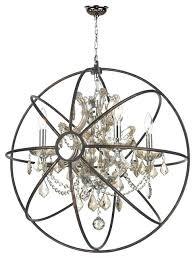 golden lighting chandelier orb chandelier 4 light chrome golden teak crystal brass cage traditional chandeliers golden