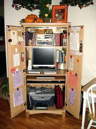 corner armoire desk computer small corner armoire