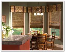 kitchen design bamboo roller blind for kitchen design ideas the wonderful curtains design ideas