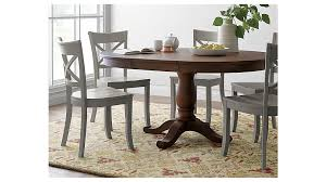 expandable round dining table pedestal