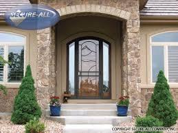 exterior security screen doors. the future of security storm doors! exterior screen doors