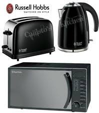 goodmans copper microwave. kettle and toaster set + microwave russell hobbs colours 2-slot \u0026 goodmans copper