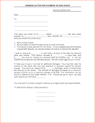 Letter Payment Demand Letter Template