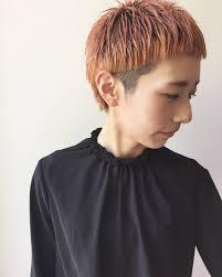 中性的な髪型で目指すはハンサムビューティーファッションに合わせたい