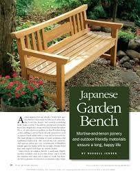 Wood Magazine Garden Bench Plans Wood Outdoor Bench Designs Wood Outdoor  Furniture Designs Bench Japanese Garden Bench Porch Bench Plans