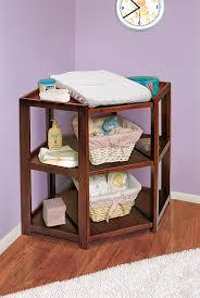 Amazon.com : Badger Basket Diaper Corner Changing Table, Cherry : Badger  Basket White Table : Baby