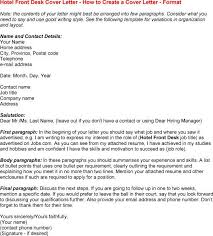 Hotel Front Desk Cover Letter Templates Pinterest