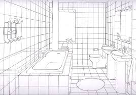 kitchen 1 point perspective. simple bathrooms one point perspective google search kitchen 1