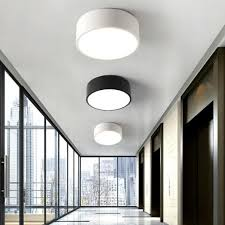 home office ceiling lighting. 2017 Balcony Mini Led Light Nordic Style Black \u0026 White Porch Lamp Home Office Round Small Ceiling Lighting O
