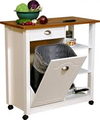 Decorative Kitchen Trash Cans Tilt Out Trash Bin Storage Cabinet Best Home Furniture Decoration
