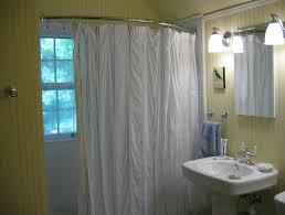 ideal shower curtain rod for corner shower inside shower curtain rod
