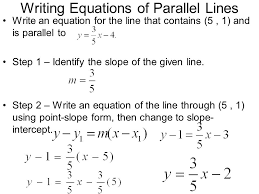 writing the equation of a line when given two points worksheet