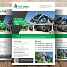 real estate flyer templates real estate flyer template for free download on pngtree