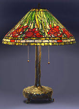 tiffany stained glass lamp. Tiffany Style Stained Glass Daffodil Table Lamp 18\