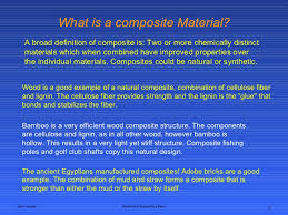 Ppt On Composite Materials Composites