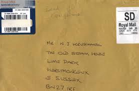 Brilliant Ideas Of How To Write Letter Envelope Uk Best Envelope