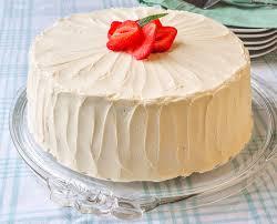 Strawberry Vanilla Butter Cake A Delicious Homemade Celebration Cake
