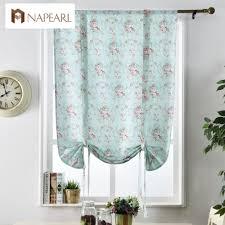 Blackout Vorhänge Floral Schlafzimmer Fenster Behandlung Blau Rosa