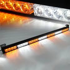 Strobe Light In Store Details About 28 Led 14w Emergency Traffic Advisor Hazard Flash Strobe Light Bar White Amber