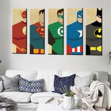 oil painting frameless watercolor art prints poster hipster wall picture canvas painting cartoon superman kids room on wall art canvas ideas with 31 elegant childrens wall art canvas wall art decorative