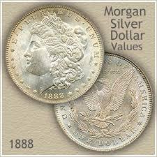 1804 Silver Dollar Value Chart 1888 Morgan Silver Dollar Value Discover Their Worth