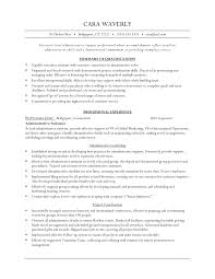 Executive Assistant Resume Example ExecutiveLevel Administrative Assistant Resume Example Vinodomia 91