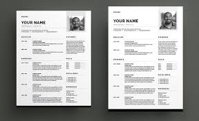 Adobe Resume Template Gorgeous Now Available Adobe Stock Templates For InDesign CC Creative