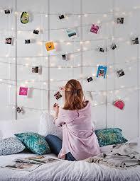 Bedroom Fairy Light Wall