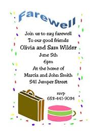 Farewell Party Announcement Epic Send Off Party Invitation Letter