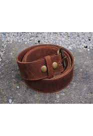 distressed leather belt 1 1 2 wide