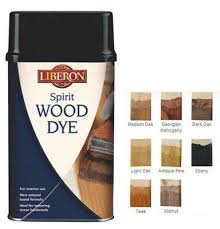 Liberon Spirit Wood Dyes All Shades 250ml And 1 Litre Ideal