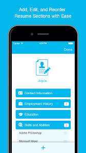 resume the free resume builder and job app by pathsource - Mobile Resume  Builder